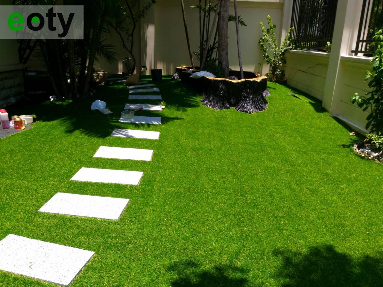 Cách thiết kế sân vườn rộng thành không gian đáng sống