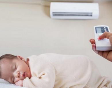 Có nên dùng điều hòa cho trẻ sơ sinh?