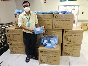 VinaCapital Foundation  đồng hành cùng Bệnh viện Nhi đồng TP. HCM trong công tác chống dịch