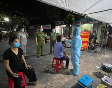 Hà Nam: Xét nghiệm đến 2 giờ sáng 21/9, phát hiện thêm 10 F0