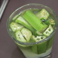 Lợi ích tuyệt vời khi uống nước đậu bắp